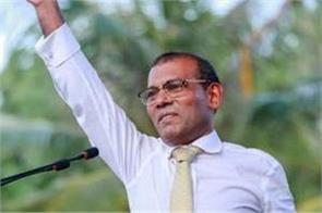 former maldives president makes comeback with landslide win