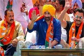 bjp candidate sunny deol s assets worth 87 crores 53 crores