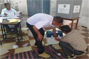 polling ends in 5 seats of lok sabha in uttarakhand