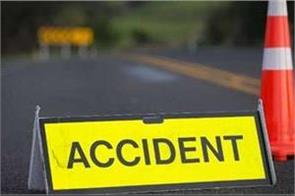 amethi two people died in road accident one injured