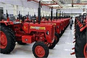 tractor mahindra  mahindra tractors total sales up 3 5 million units