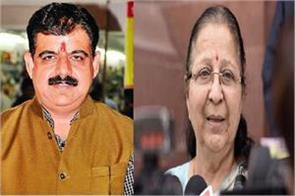 bjp prepares shankar lalwani from indore instead of sumitra mahajan