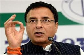prime minister takes credit but not responsibility surjewala