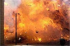 tamil nadu explosion in closed cracker factory 1 killed 4 scorched