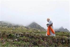 pm narendra modi in baba kedarnath and badrinath