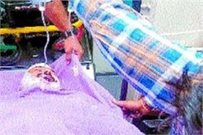 kaithal a person with muscle attack with a knife