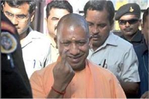 speaking after voting cm yogi