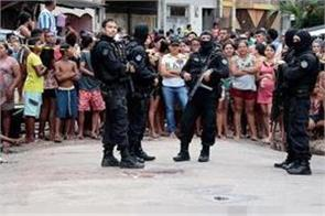 11 killed in  massacre  at bar in north brazil