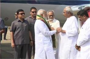 cyclone fani pm modi survey of storm affected odisha