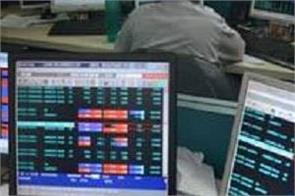 sensex breaks more than 200 points in us china dispute