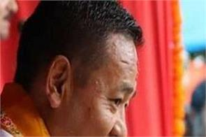 ps gole sworn in as chief minister of sikkim
