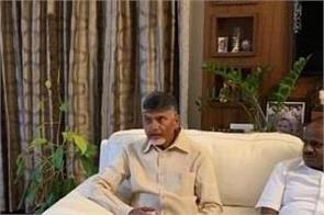 naidu meets devgowda about evm issue