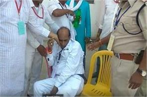 mp congress leader came to see election trends heart attack