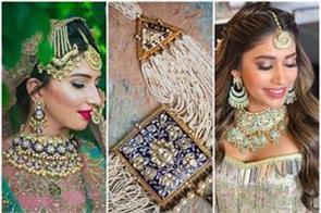 latest meenakari jewellery designs for brides