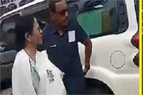 mamata upset with chants of jai shri ram