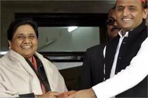 akhilesh yadav who came to meet mayawati