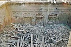 historical guru nanak palace partially demolished in pak