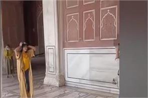 dance viral in jama masjid