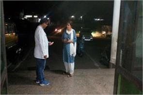 dc reasi paid surprise visit to hospital
