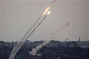 around 50 rockets launched into israel from gaza