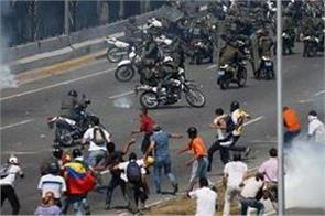 venezuela crisis maduro claims victory over  deranged  coup attempt