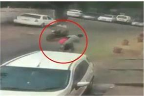 bike borne assailants snatch a woman s chain in delhi