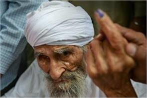 lok sabha elections delhi oldest person cast vote groom also arrives