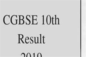 cgbse 10th result 2019 topper nisha patel wants to become doctor