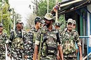 more than 600 companies of paramilitary forces deployed in bengal