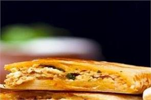 how to make paneer lifafa paratha