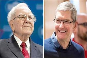 tim cook thrilled with buffett s investment in apple