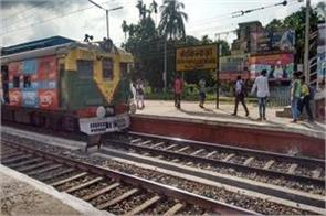 west bengal threw a bomb out of the railway station