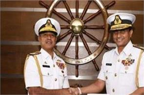 rear admiral ulugeti the new naval chief of sri lanka
