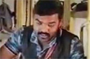 video get viral of salesman who sold the thing in train
