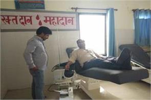 hindu boy donate blodd for muslim in poonch