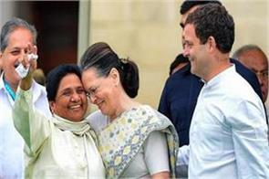 mayawati rahul and sonia gandhi meet in delhi tomorrow