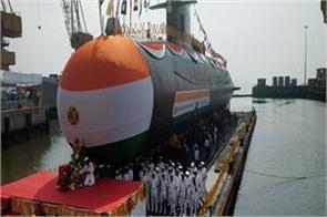 scorpene s fourth submarine  vela  launch