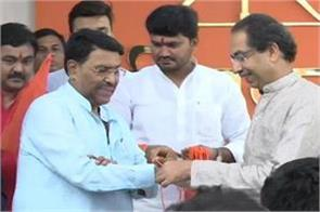 ncp s shock mla and ex minister jaydatt kshirsagar joins shiv sena