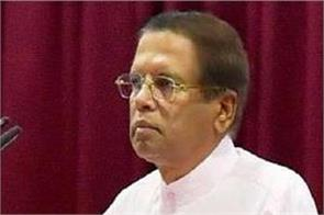 sri lankan president message to isis chief leave my country alone