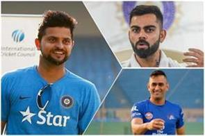 raina s big statement virat also believes dhoni is  captain