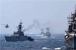 india and singapore navy practice in south china sea