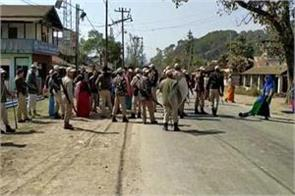 curfew in halakandi of assam extends for 10 days