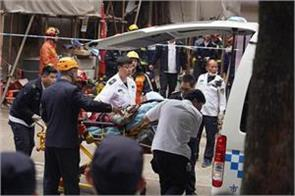 seven people die from factory wall collapse in china