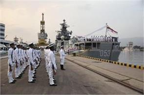 navy retired missile destroyer ins ranjit