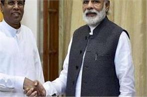 pm to visit sri lanka in early june sri lankan president
