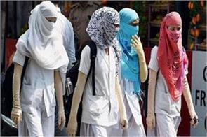the temperature reached 49 6 degree celsius in shriganganagar rajasthan