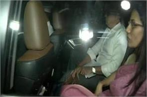 chanda kochhar who appeared with the husband in front of the ed