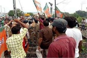 four killed in violent clash in bengal including three bjp workers