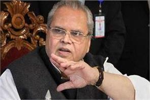 jammu and kashmir s governor malik invites banquets for terrorists
