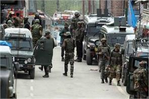 j k 4 terrorists piled by security forces in shopian encounter